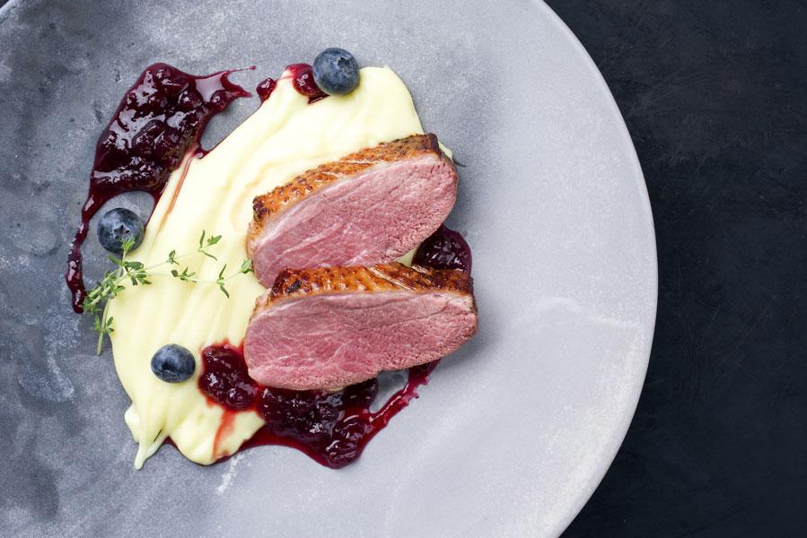 Barberie-Entenbrust-mit-Portwein-Sauce